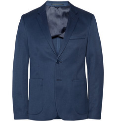 Acne Studios Navy Stan Slim-Fit Cotton-Blend Twill Suit Jacket