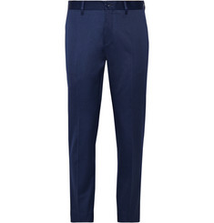 Acne Studios Navy Stan Slim-Fit Cotton-Blend Twill Suit Trousers