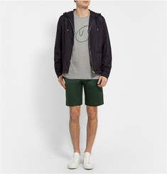 Acne Studios Adrian Slim-Fit Cotton-Blend Twill Shorts
