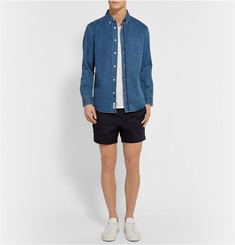 Acne Studios Seymour Stretch-Cotton Sateen Shorts
