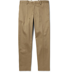 Acne Studios Cone Tapered Cotton-Blend Twill Trousers