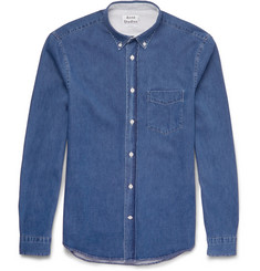 Acne Studios - Isherwood Button-Down Collar Lightweight-Denim Shirt