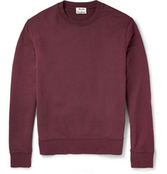 Acne Studios Casey Loopback Cotton-Blend Sweatshirt