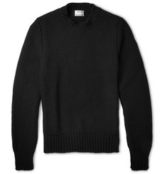 Acne Studios Bill Chunky-Knit Cotton-Blend Sweater