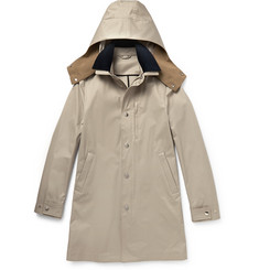 Acne Studios Troy Hooded Cotton-Canvas Parka
