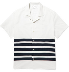 Acne Studios Ody Striped Cotton-Poplin Shirt