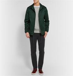 Acne Studios College Crew Neck Loopback Cotton-Jersey Sweatshirt