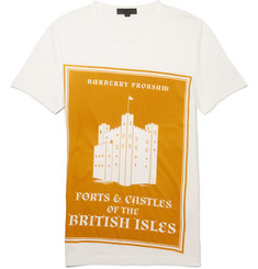 Burberry Prorsum Printed Cotton-Jersey T-Shirt