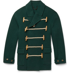 Burberry Prorsum Wool and Cashmere-Blend Duffle Coat