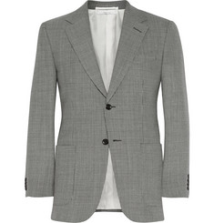 Alfred Dunhill Belgravia Slim-Fit Houndstooth Wool Blazer