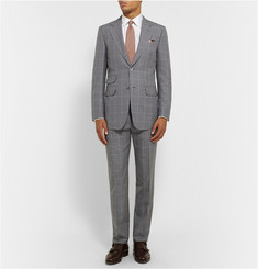 Dunhill Grey Belgravia Slim-Fit Wool Suit