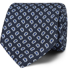 Dunhill Paisley-Patterned Silk Tie