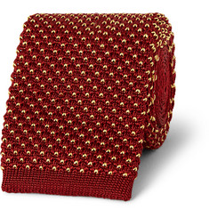 Dunhill Knitted Silk Tie