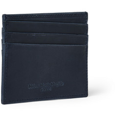 Maison Martin Margiela Burnished-Leather Cardholder