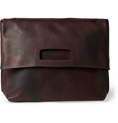 Maison Margiela Leather Messenger Bag