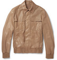 Berluti - Leather Bomber Jacket