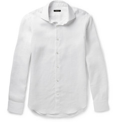 Berluti Washed-Linen Shirt