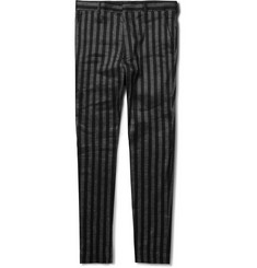 Haider Ackermann Striped Cotton Trousers