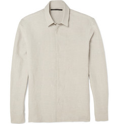 Haider Ackermann Linen and Silk-Blend Shirt