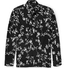 Haider Ackermann Botantical-Print Cotton Shirt