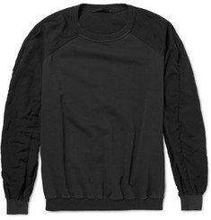 Haider Ackermann Panelled Cotton Sweatshirt