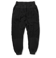 Haider Ackermann Panelled Cotton Sweatpants