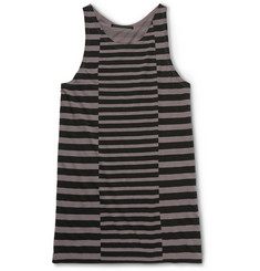Haider Ackermann Striped Cotton Tank Top
