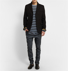 Haider Ackermann Striped Cotton T-Shirt