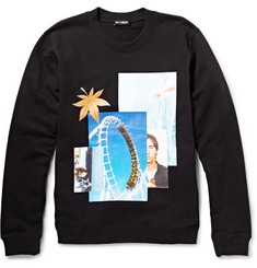 Raf Simons Printed Loopback Cotton-Jersey Sweatshirt