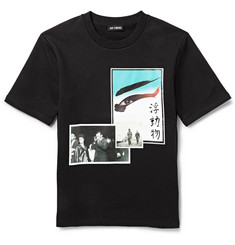 Raf Simons Photographic Printed Cotton-Jersey Sweatshirt