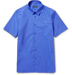 Raf Simons Slim-Fit Cotton-Blend Poplin Shirt