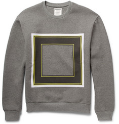 Wooyoungmi Printed Cotton-Jersey Sweatshirt