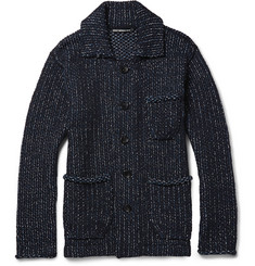 Issey Miyake Knitted-Cotton Jacket