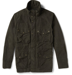 Rag & bone Keast Coated Cotton-Blend Field Jacket