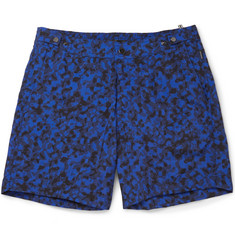 Dan Ward Short-Length Printed Swim Shorts