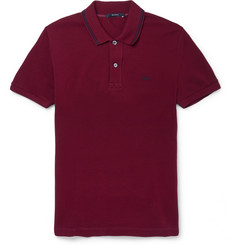 Gucci Slim-Fit Cotton-Blend Pique Polo Shirt