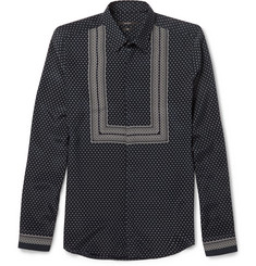 Gucci Printed Silk Shirt