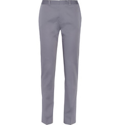 PS by Paul Smith Grey Slim-Fit Cotton Suit Trousers