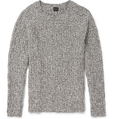 PS by Paul Smith Cable-Knit Cotton-Blend Sweater