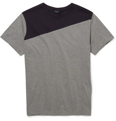 PS by Paul Smith Panelled Cotton T-Shirt