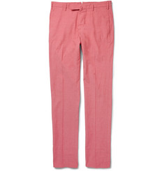Incotex Slim-Fit Chambray Trousers