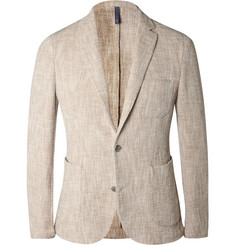 Incotex Sand Slim-Fit Woven Cotton-Blend Blazer