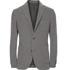 Incotex Montedoro Giacco Slim-Fit Unstructured Knitted Cotton Blazer