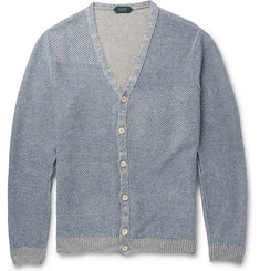 Incotex Knitted-Linen Cardigan