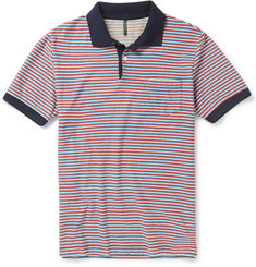 Incotex Striped Cotton Polo Shirt