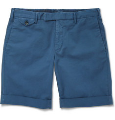 Incotex Cotton-Blend Shorts