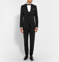 Dolce & Gabbana Black Slim-Fit Wool and Silk-Blend Tuxedo
