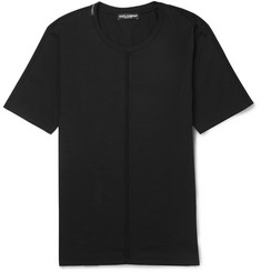 Dolce & Gabbana Soutache-Trimmed Cotton-Jersey T-Shirt