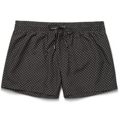 Dolce & Gabbana Short-Length Polka-Dot Swim Shorts