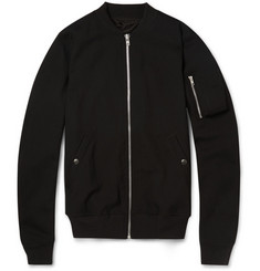 Rick Owens Stretch-Wool Bomber Jacket